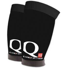Compressport Quad - Calentadores - negro